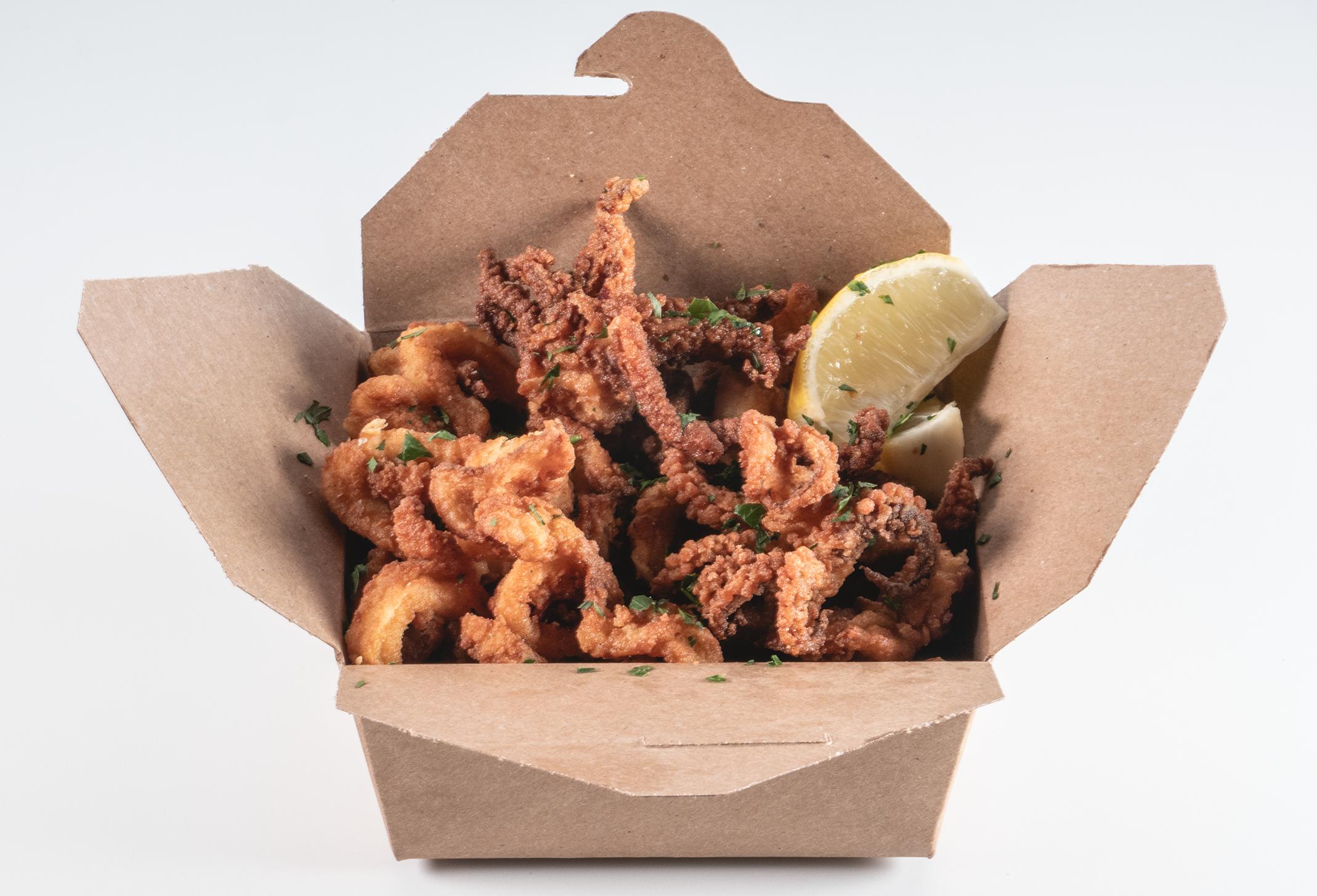 Fried Calamari - The Daily Catch